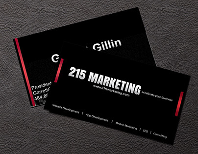 215Marketing - Business Card Design
