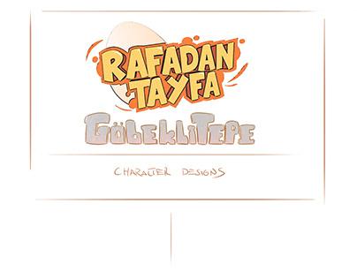 Rafadan Tayfa '' Göbekli Tepe '' Character Designs