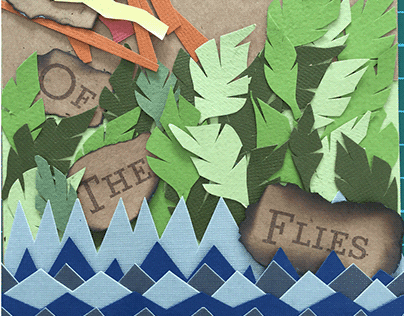 Limited Edition Lord of the Flies Book Cover Redesign