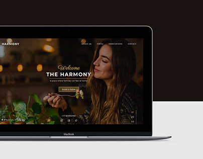 Family Restaurant Landing Page