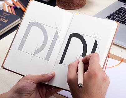 """""""Design Induction"""" Logo Sketch."""