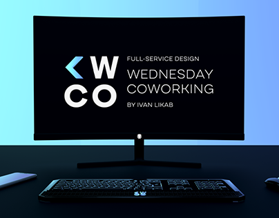 WEDNESDAY COWORKING | Full design of service