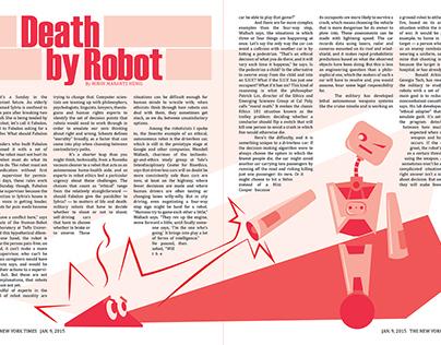 Death by Robot Spread