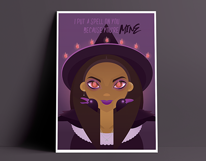Witchy Poster