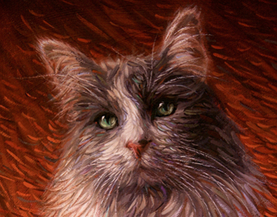 Oil Portraits of Pets & People