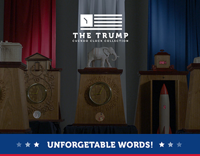 Trump Cuckoo Clock Collection
