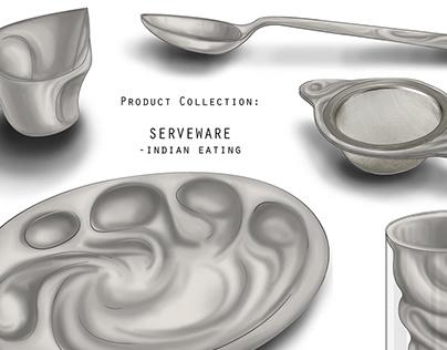 Sparsh Serveware for Indian Eating