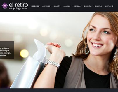 El Retiro Mall Website 2013
