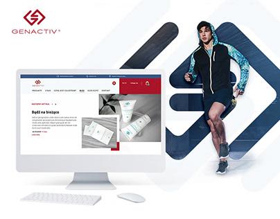 Genactiv - website