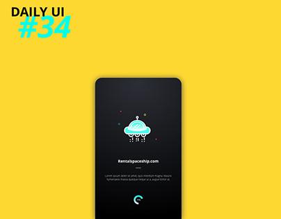 Daily UI #34: Loading