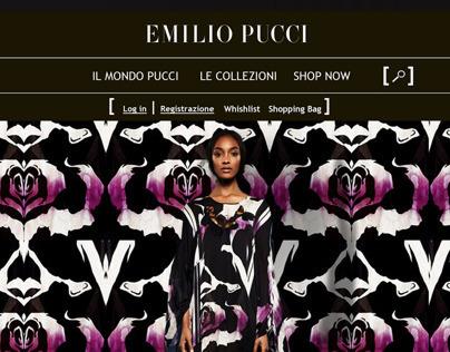 Emilio Pucci website restyling