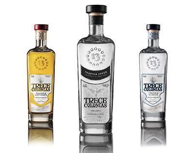Empaque Tequila Trece colonias