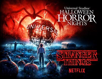Stranger Things - Universal Studios HHN 2019