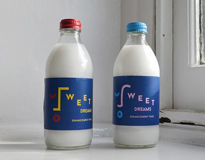 Packaging design: Sweet Dreams sleep enhancement tonic