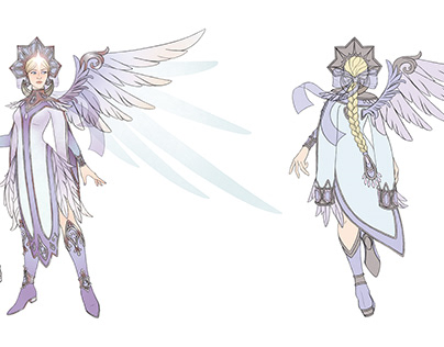 Fan concept skin Mercy - The Swan Princess