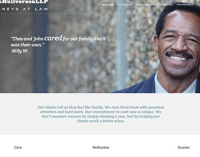 Website for a San Francisco Personal Injury Law Firm