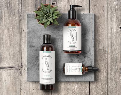 Skincare packaging & logo design