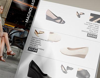 Editorial Design: Shoe catalogue for Litargmode