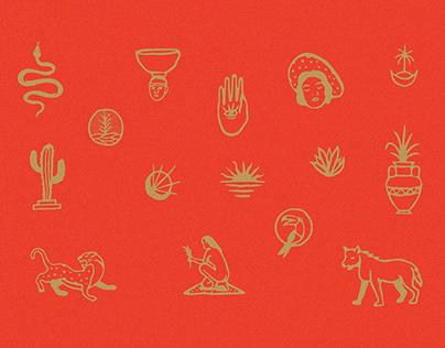 Roman Handdrawn Illustrations #1
