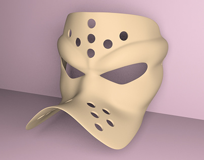 mighty ducks mask for 3D print