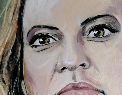 Claudia's portrait