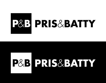 Logotipo y web de Pris&Batty