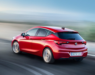 Opel Astra - European PR teaser campaign