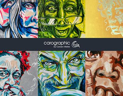 Art summery #carographic by Carolyn Mielke