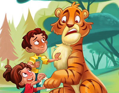 Illustrations for children's books and products