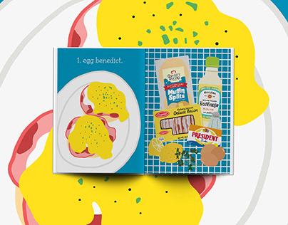 The Breakfast Book - Illustrated Recipe Book