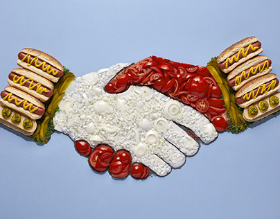 HANDSHAKE Food Illustration