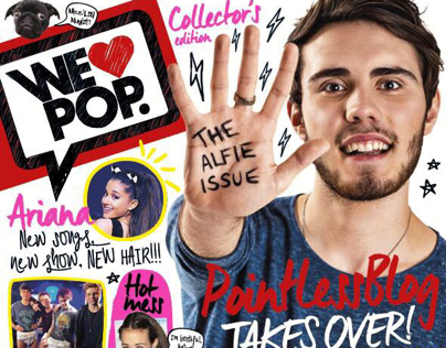 We Love Pop covers