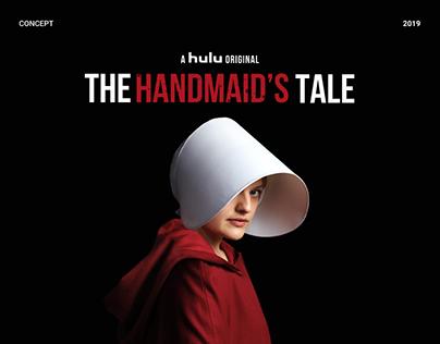 Series The Handmaid's Tale Web Design Concept