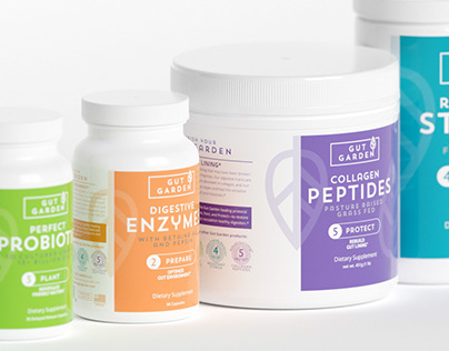 3D Product Visualization for Gut Garden