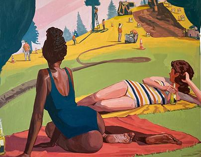 Location Settings - New Painting + Process Vid