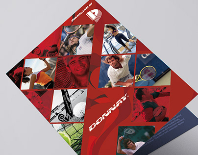 Donnay® Folder Díptico contenedor