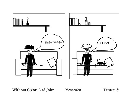 Without Color : Dad Joke