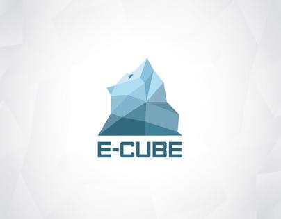 E-cube / Logo & identity for an ice bar