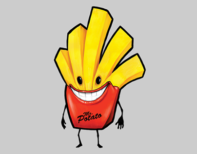 MR. POTATO MASCOT