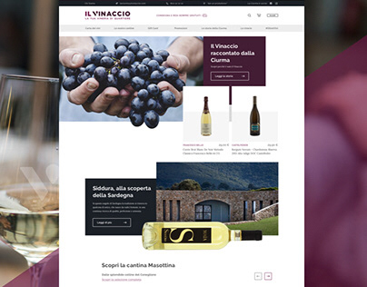 Il VINACCIO e-commerce website