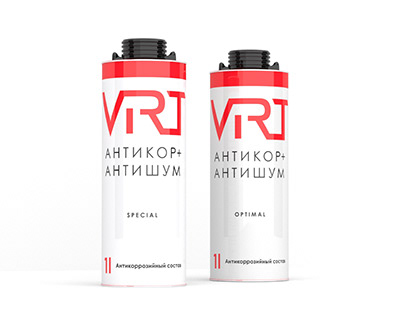VIRT coatings pack concept and print production