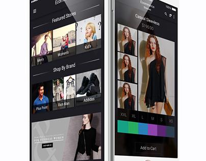 OS8 E-Commerce App UI