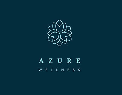 Azure Brand Identity - Wellness ,Spa ,Yoga studio