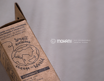 Mohani.pl dental floss package