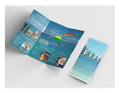 Travel Guide Tri-fold Brochure