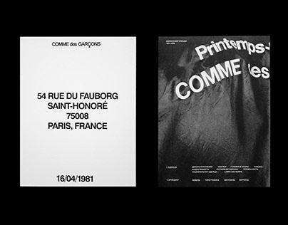 COMME DES GARÇONS: the brand's philosophy