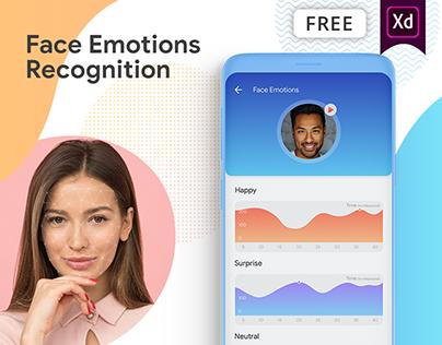Face Emotions Recognition Concept App