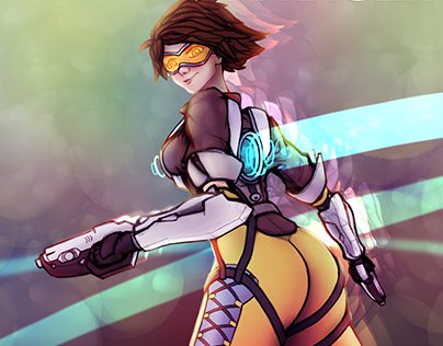 Tracer Pinup