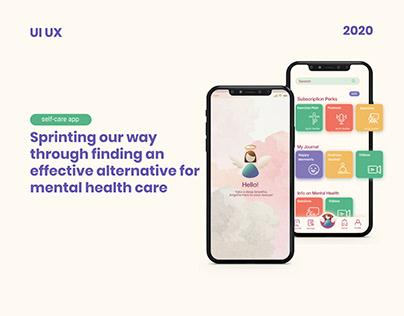 Design sprint - Mental healthcare