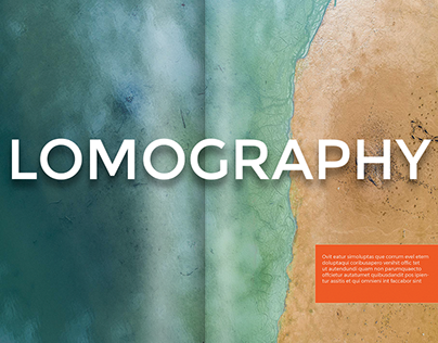 Concept magazine for Lomography